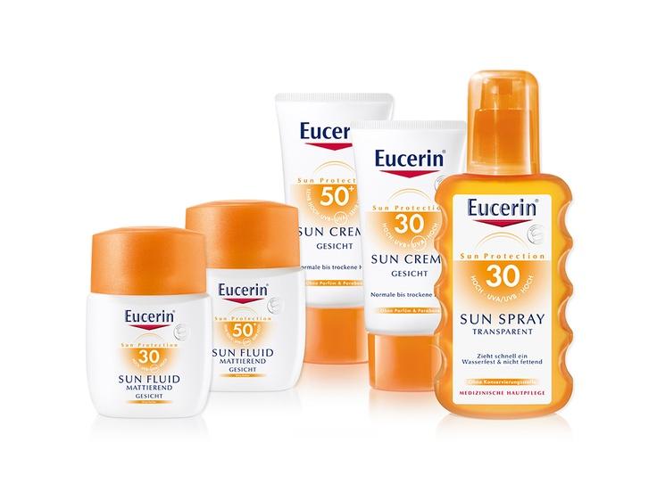 Neues von der Schminktante! Sonnenschutz von Eucerin
