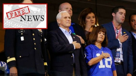 """After backlash from the public caused by Vice President Mike Pence's actions at a Colt's game this past Sunday, our president has declared a change to the definition of the word """"protest."""" Th…"""