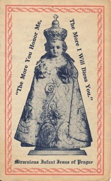 "Nine Hour ""Crash"" Novena to the Holy Infant of Prague Infant Jesus of Prague"