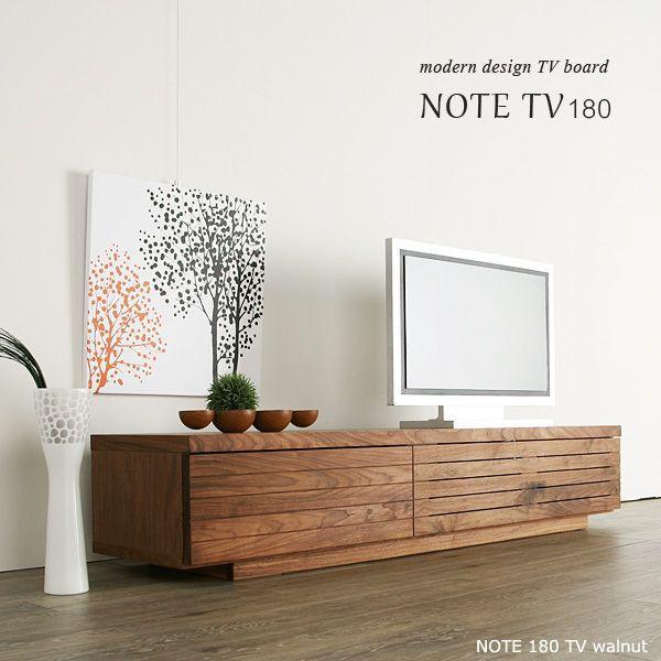 NOTE(ノート)は大量生産では成し得ない手作りのきめ細かな品質、熟練の家具職人が作る上質で高い機能性が特徴のテレビボードです。細いスリットがシャープな印象を与えるデザインです。様々な材料をご用意しています。サイズオーダーや別注も対応可能な理想のインテリアが実現できるTVボードです。■商品名NOTE(ノート)180 テレビボード ウォールナット・ブラックチェリー■サイズ幅180.0cm × 奥行き45.0cm × 高さ35.0cm■材質ウォールナット/ブラックチェリー■塗装透明オイル塗装(別注でウレタン塗装にもできます。)■備考完成品 国産品【木目・節について】…