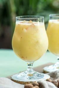 If you're looking for a great warm weather cocktail, make this Painkiller Drink recipe! Coconut, pineapple, rum, and orange- what's not to love? | @gogogogourmet