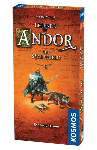 'Legends of Andor - The Star Shield' Game Expansion Pack