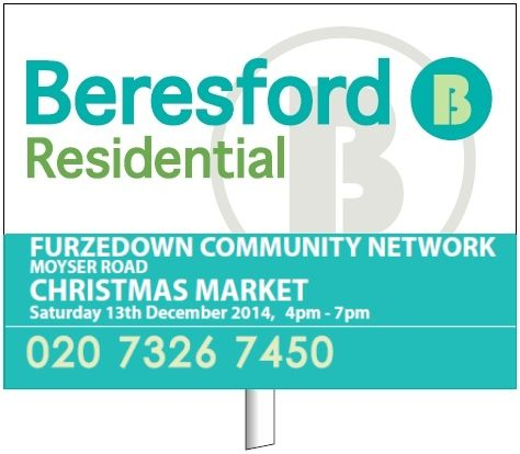Supporting the Furzedown Community Network - Estate Agents, UK