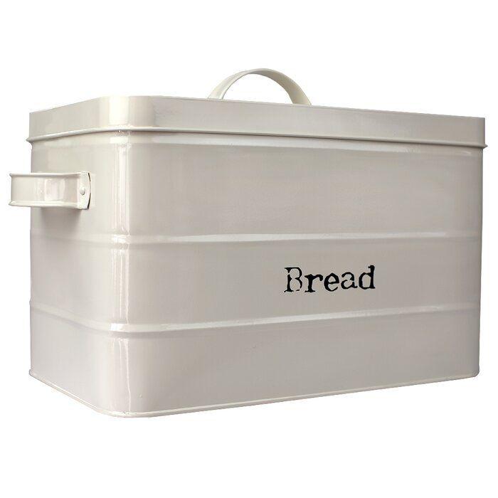 Erika Tin Bread Box Bread Storage