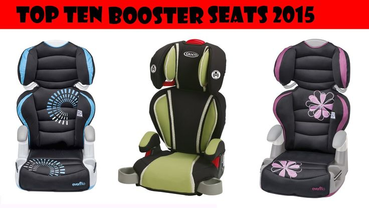 Top Ten Sellers - Booster Car Seats Video review of the top ten booster car seats, includes colors available and weight range