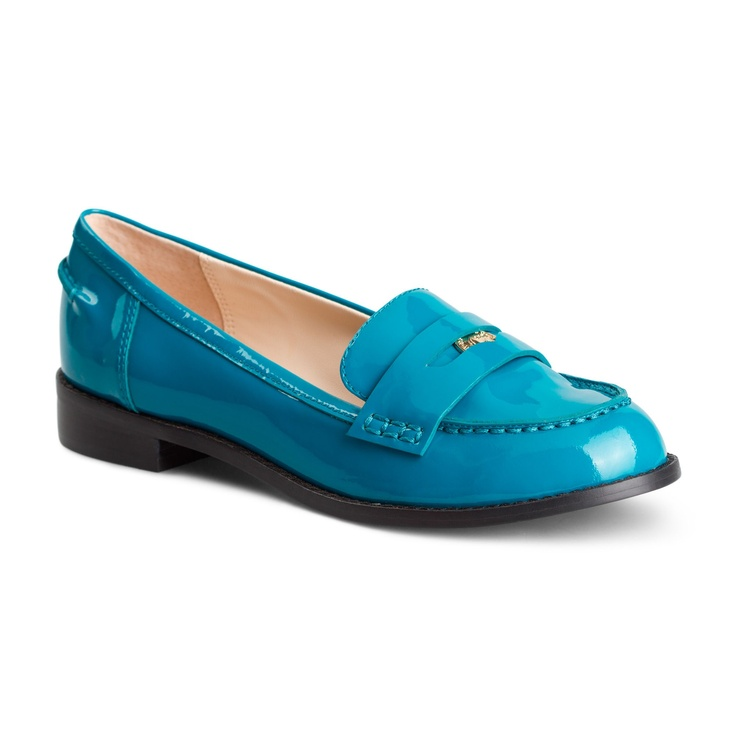 Love this Patent Leather Signature Penny Loafer for $89.99 on C. Wonder