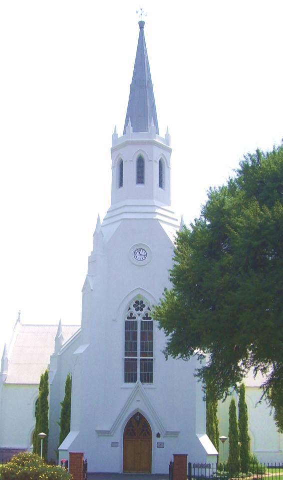 The old White Church (Dutch Reformed), a historical landmark in Middelburg, Mpumalanga. Photo: Mariaan M. Krog