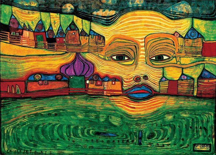 hundertwasser | Hundertwasser Paintings