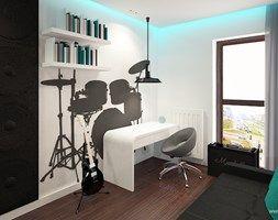 Pokój dziecka styl Industrialny - zdjęcie od Klaudia Tworo Projektowanie Wnętrz