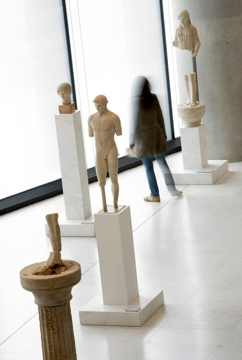 In the Acropolis Museum
