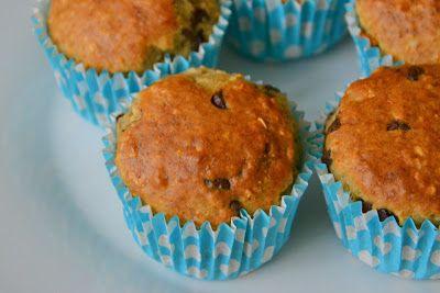 Palavras que enchem a barriga: Muffins de banana e aveia com pepitas de chocolate para um dia de bloco operatório infernal!