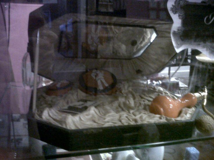 Conjunto para tocador de principios de siglo XX. Otro pieza de nuestro Museo