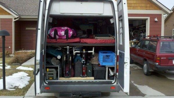 20 Of The Best Camper Vans With Bike Storage Sprinter Van