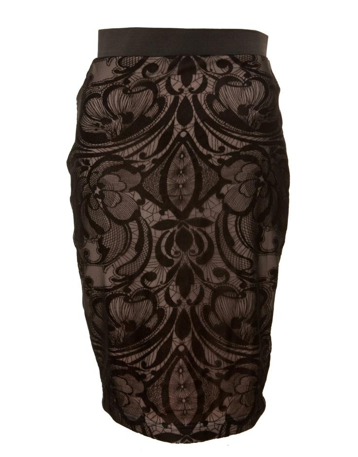 Lipsy Swirl Skirt