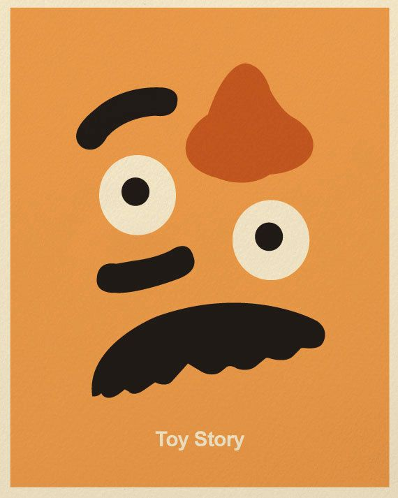 potato head minimalist - Toy Story