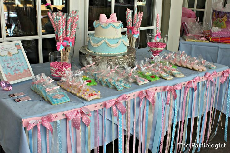 Cookies I made for a very sweet little Princess!     The 3rd BirthdayParty for Blakesley , daughter of Ryan and Trista Sutter , was a v...