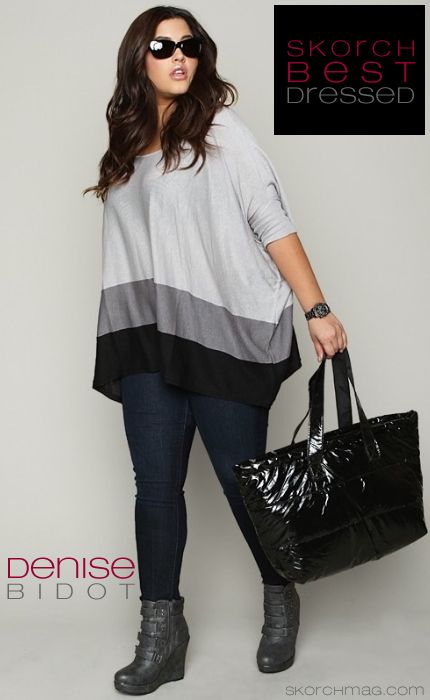 Stylish love this! Big beautiful real women with curves fashion accept your body plus size body conscientiousness