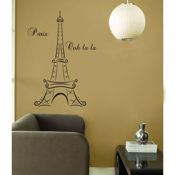 144 best nish bedroom images on Pinterest Bedroom ideas, Paris - paris themed living room