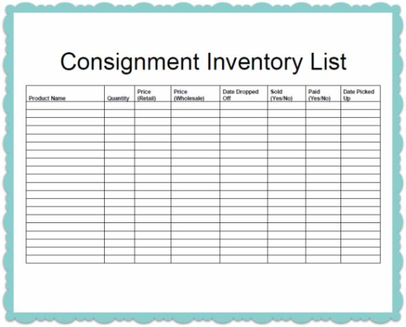 40 best Order form images on Pinterest Order form - inventory list sample