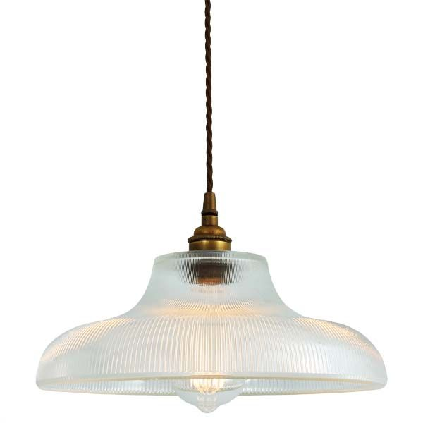 The Mullan Mono Industrial 300mm Railway Pendant Light is designed and manufactured in Ireland.