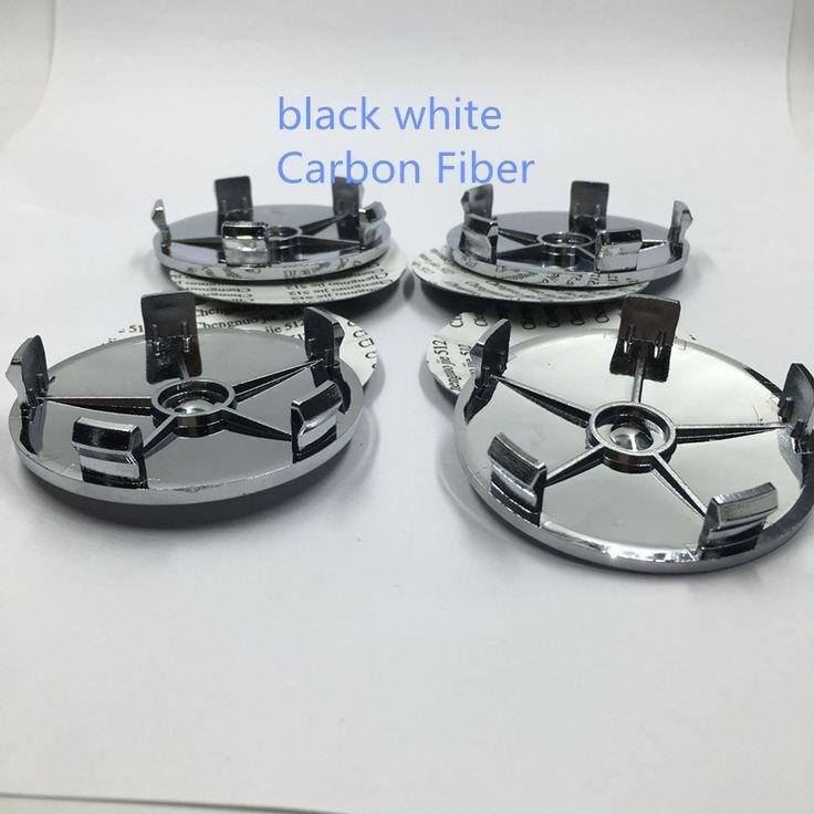 4 шт. черный углеродного волокна 68 мм литые диски центр колпаки ступиц эмблема диски для BMW E46 E36 E39 E38 E90 E60 M3 M5
