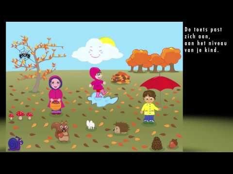 Juf Jannie - seizoenen - woordjes leren
