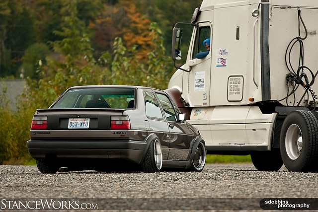 StanceWorks EXCLUSIVE: Jason's Mk2 Jetta Coupe - 9323 by SDOBBINS Photography, via Flickr