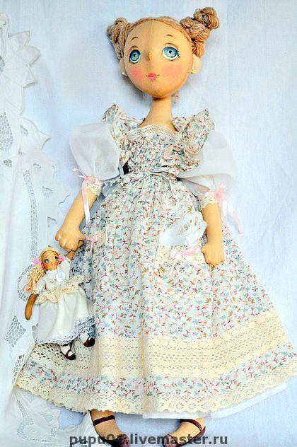 Bonecas artesanais colecionáveis.  Mestres - Feira artesanal Annie.  Handmade.