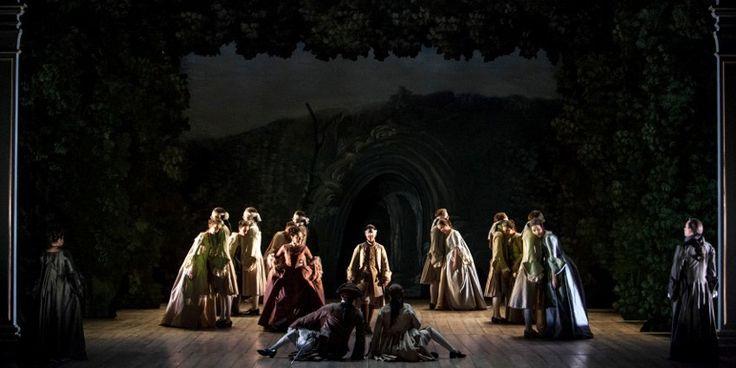 """A revivre sur Culturebox jusqu'au 10/08/2015. """"Alcina"""" ( rôle-titre ici interprété par Sandrine Piau) nous conduit dans un monde de magie et de fantaisie. Sur l'île de cette magicienne, la guerrière Bradamante (Angélique Noldus) vient chercher Ruggiero, sa bien-aimée ensorcelée (Maite Beaumont). La puissance de l'amour l'emporte finalement sur la magie. Alcina chavire et ses enchantements sont anéantis : le véritable amour peut s'épanouir. Le compositeur allemand devenu sujet britannique…"""