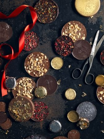 Ever wondered how to make your own Chocolate Coins? Well now you can with this step-by-step recipe from Jamie Oliver, perfect for parties or gifts.