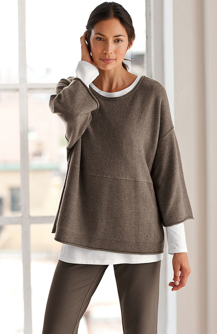 knit tops & tees > Pure Jill long-sleeve tee at J.Jill