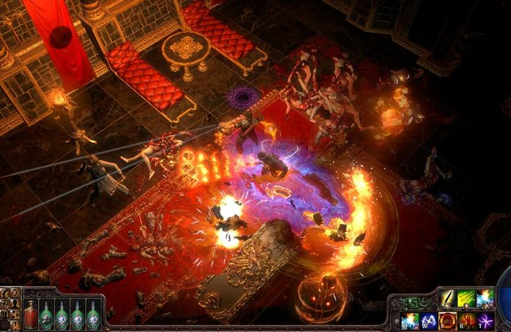 Skills in Path of Exile take the form of gems