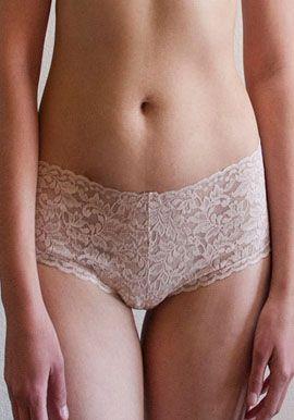 Plus Beige Panties 40