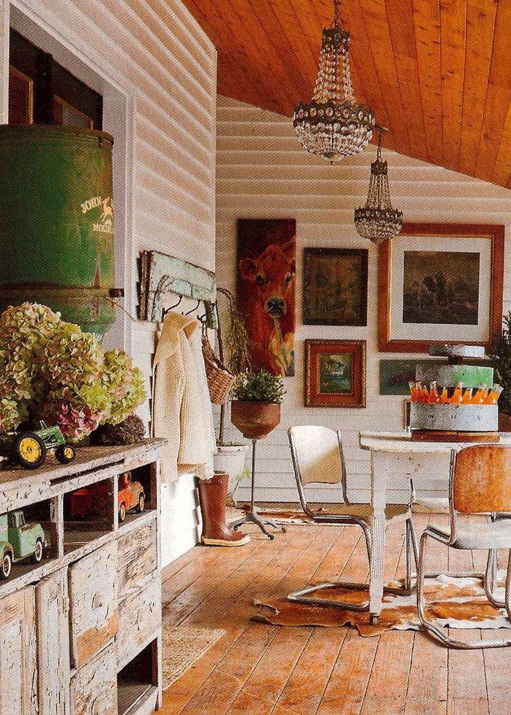 17 best images about flea market style on pinterest for Flea market home decor