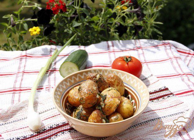 Жареный молодой картофель - пошаговый рецепт с фото