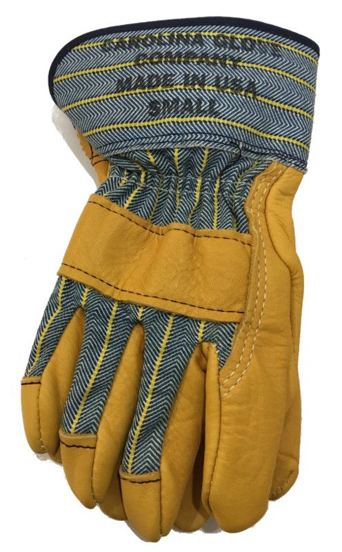 2007a6dd379a Womens Top Grain Leather Work Gloves, USA Made, Flannel Lined | Womens Work  Gloves | Leather work gloves, Work gloves, Gloves