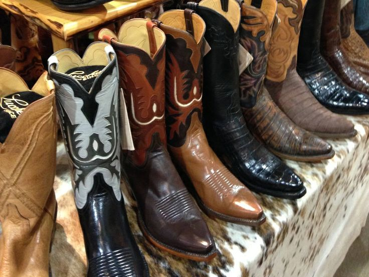 A Houston Rodeo first: Legendary cowboy boots to be on sale