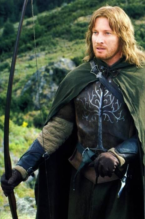 Faramir was awesome! Probably my favorites out of the humans(Yeah, I like Aragorn, but Faramir is epic!