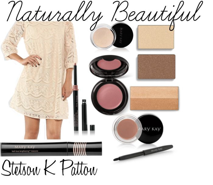 Naturally Beautiful Look with Mary Kay makeup!  - Stetson K Patton www.marykay.com/kristenrae ships anywhere in the US for free within 5-7 business days