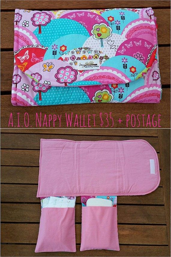 PreMade All In One Travel Nappy Wallet and by MadeWhileTheySleep, $35.00