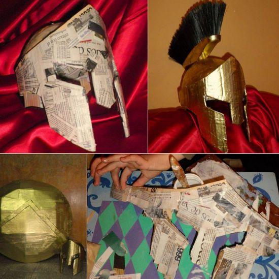 Casco de Gladiador Reciclado                                                                                                                                                                                 Más