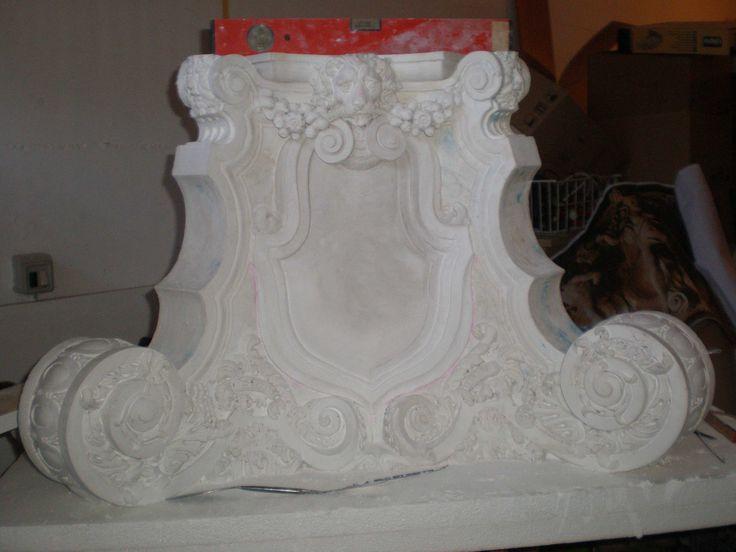 plaster model - by aldo zoccante