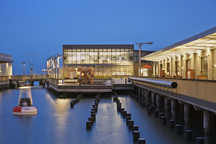 Week 12. San Francisco exploratorium is the great example of sustainable architecture. The roof holds 1.3 megawatt photovoltaic array. Water is used for building heating and cooling. Used materials are sustainable and can withstand maritime climate.