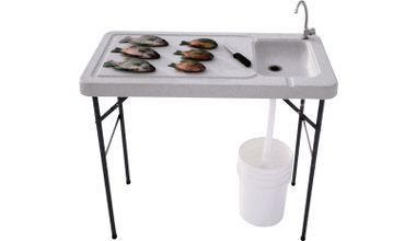 1000 images about fish cleaning table ideas on pinterest for Fish cleaning tables