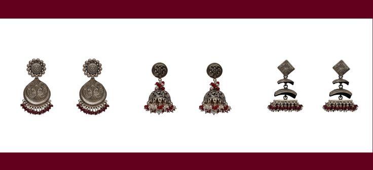 #silver #jewellery #ethnicwear #loveforethnic #ethnicwear #ethnic #rockthislookwithzoyashi #Zoyashi #festive #season