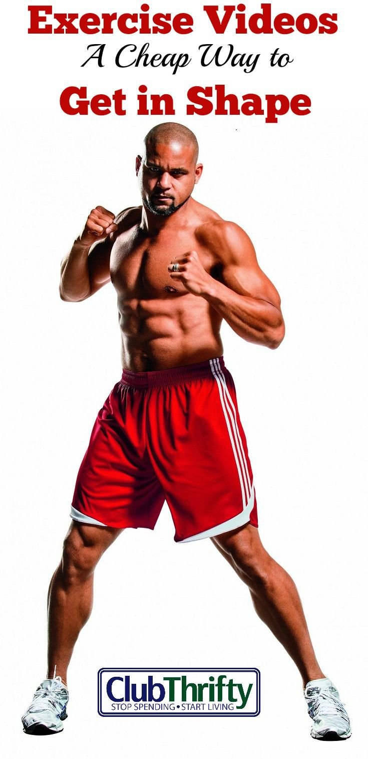 Are you frustrated with gym prices and looking for a cheap way to get in shape? If so, cheap or free exercise videos might be your best bet.