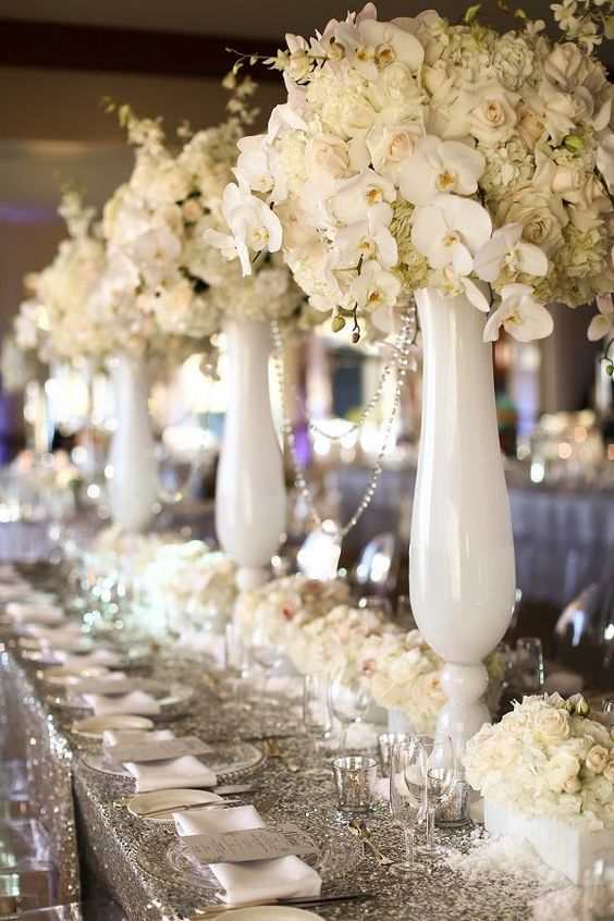 322 best Wedding Centerpiece images on Pinterest Marriage