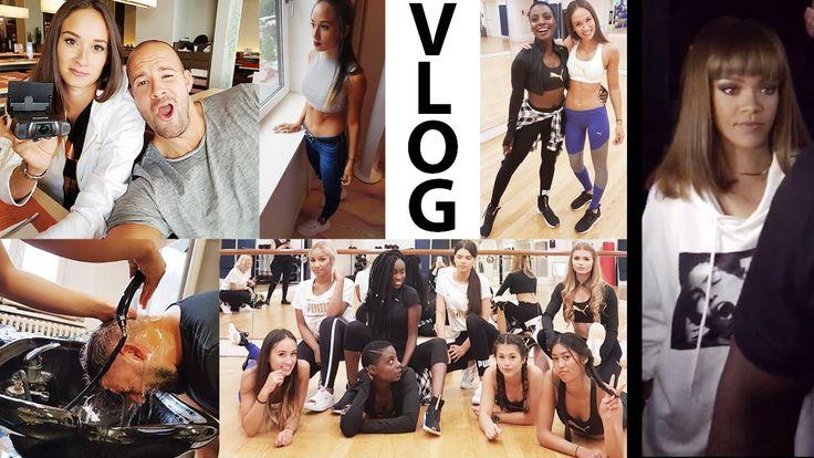 Rihanna hautnah erlebt - Tanzworkshop mit vielen Youtubern - Discobesuch...
