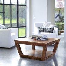 Table basse en palissandre 80x80 Villa