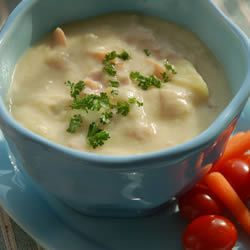 Soupe au jambon et pommes de terre @ http://qc.allrecipes.ca